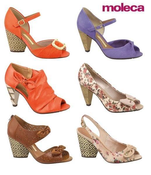 Moleca Calçados 2012 – Fotos e Modelos