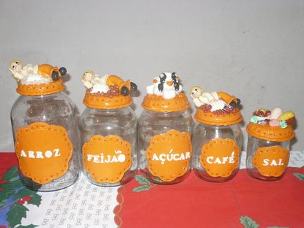 Artesanato em Biscuit para Cozinha: Dicas e Fotos