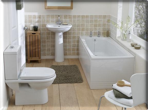 Fotos de Banheiros Pequenos com Banheira