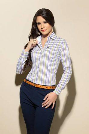 Blusa Social Feminina Moda 2014