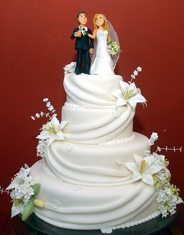 Bolo de Casamento – Fotos e Dicas para Escolher