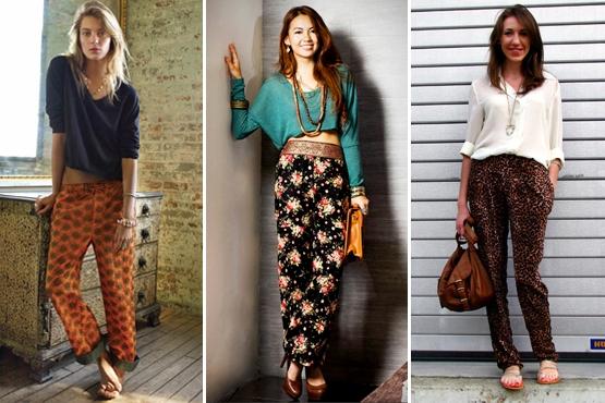 Calças Estampadas Femininas – Fotos e Modelos