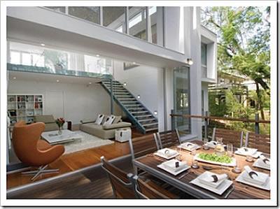 Fotos de casas modernas for Casa moderna por dentro