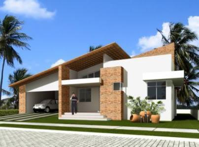 Casas modernas fotos de campo plantas com 3 quartos pictures - Casas de campo modernas ...