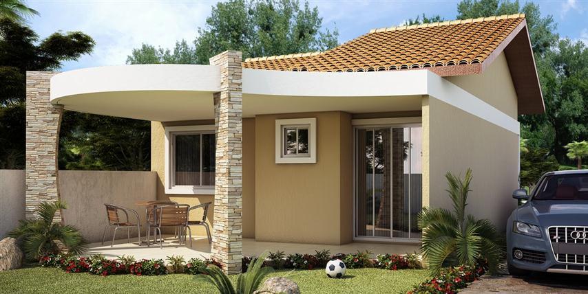 Casas pequenas modernas fotos - Tipos de tejados para casas ...