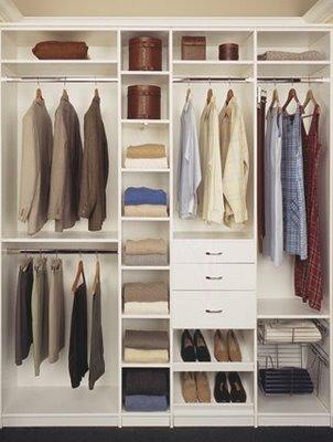 Modelos de closets pequenos dicas e fotos for Ideas para closets pequenos