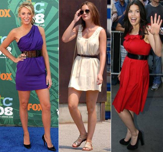 Como Usar Cinto com Vestidos, Dicas e Fotos