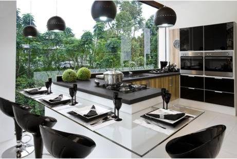 Cozinhas Modernas 2012, Dicas e Fotos