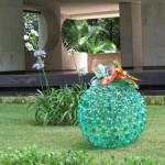 decoração-com- garrafas-pet