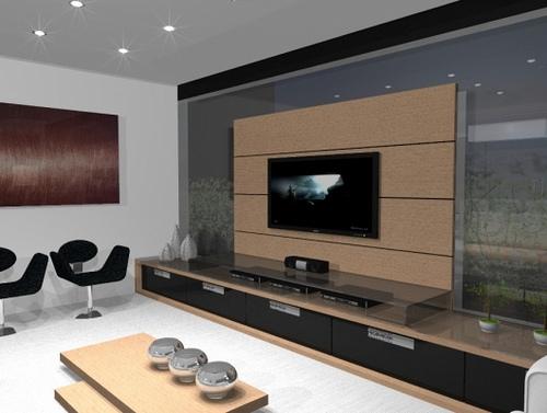 Decoracao De Sala Imagem ~  detalhes, e para ajudar veja essas fotos de decoração de sala de TV