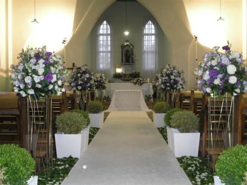 Enfeite De Igreja ~ Decoraç u00e3o Simples de Casamento