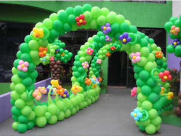 Decoração de Aniversário com Balões  Dicas e Fotos