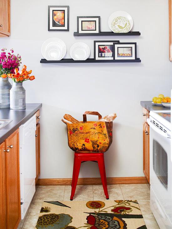 decoracao cozinha quadros:Small Space Kitchen Wall Decor