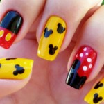 decoracao-de-unhas-com-Mickey-Mouse