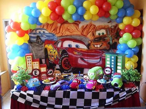 Decoração para Festa: Tema Carros