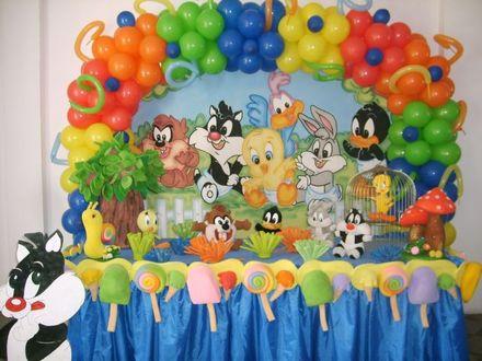 Decoração para Festas Infantis de 1 ano – Fotos, Modelos