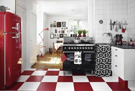 Decoração Retrô para Cozinha: Dicas e Fotos
