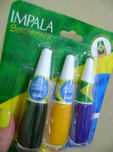 Esmaltes Impala Cores do Brasil – Copa do Mundo 2010