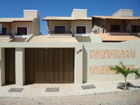 Frentes fachadas de casas populares fotos e modelos for Fotos de frentes de casas