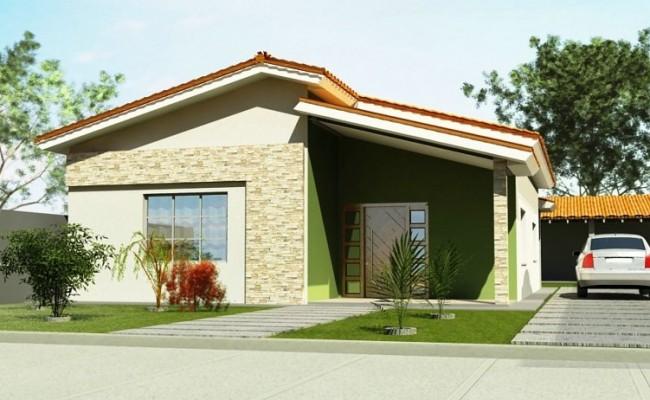 Muros e fachadas de casas for Fachadas de casas modernas wikipedia