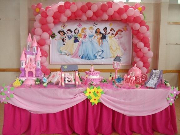 Festas de Aniversário das Princesas: Fotos, Idéias, Dicas