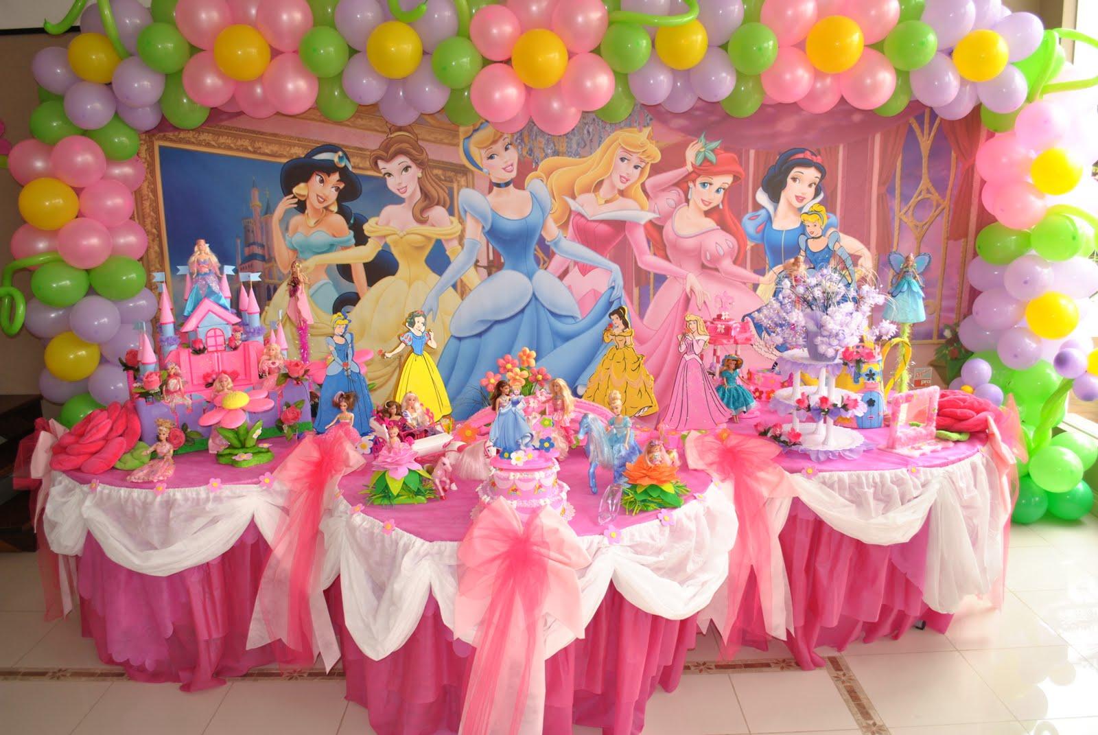Как сделать день рождения в стиле принцесс фото