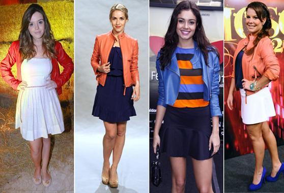 Jaquetas de Couro Coloridas – Fotos, Dicas e Onde Comprar
