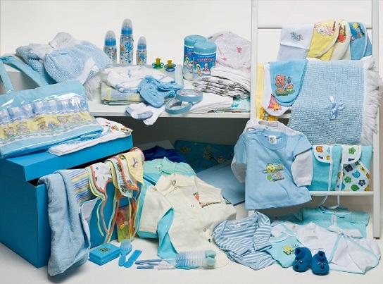 Lista de Enxovais para Bebê