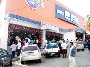 Site das Lojas Cem – www.lojascem.com.br