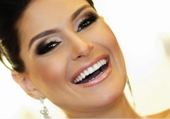Fabuloso Maquiagem para Noivas Morenas: Fotos, Dicas YV21