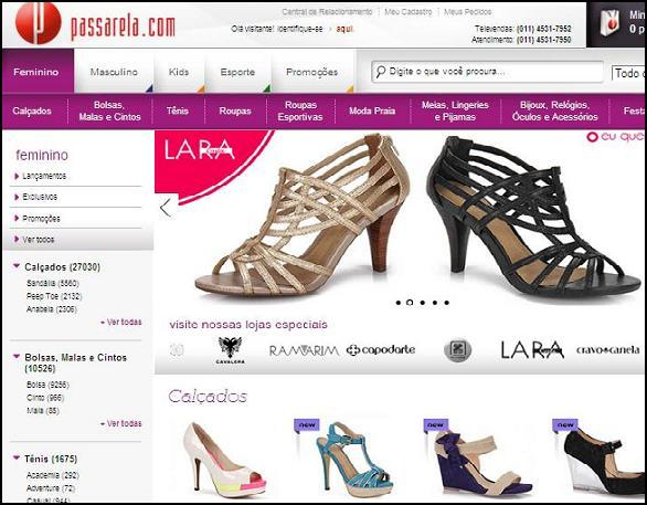 Melhores Lojas Online de Calçados Femininos