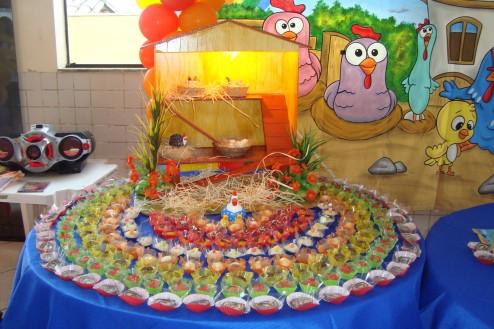Mesa de festa infantil saiba como decorar for Mesa redonda infantil