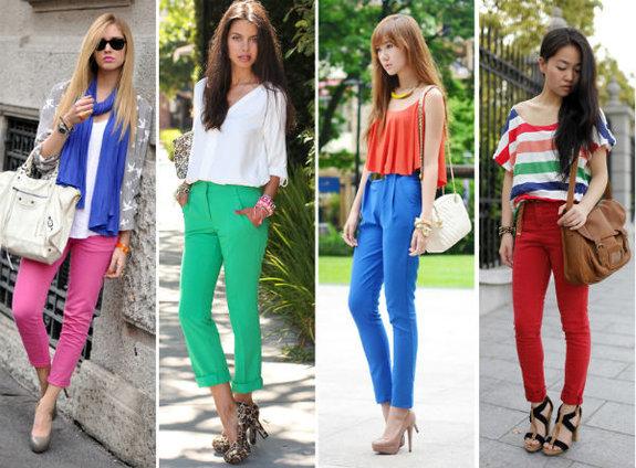 Moda Calças Coloridas: Looks, Dicas de como Usar