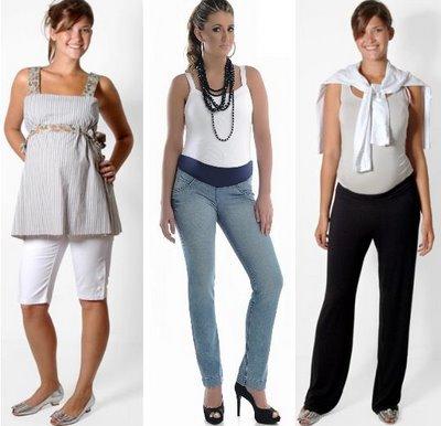 Moda Gestante 2012 – Fotos e Dicas