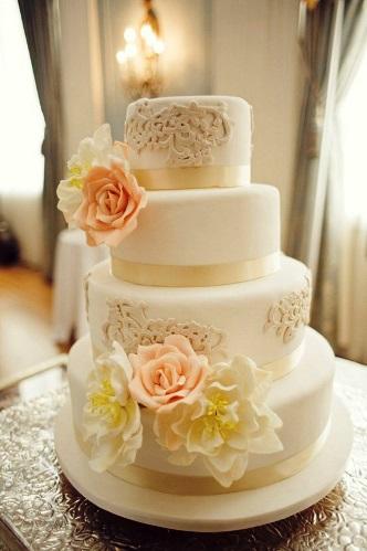 Modelos de Bolos para Casamento 2014: Dicas, Fotos