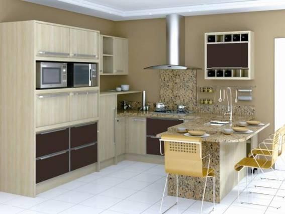 de cozinhas pequenas e confira que mesmo com uma decoração simples