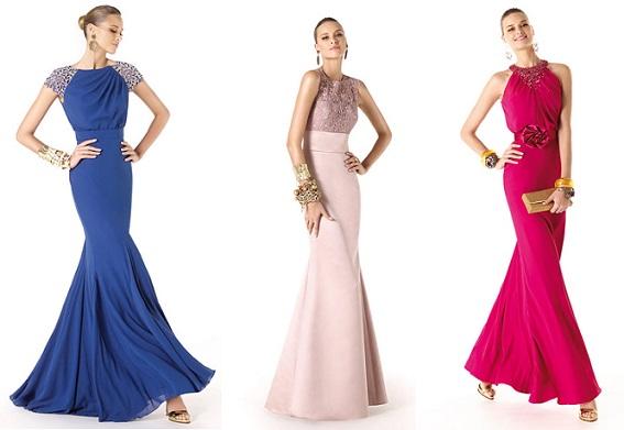 Modelos de Vestidos de Festa 2014