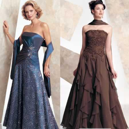 Modelos de Vestidos de Madrinhas Tomara que Caia