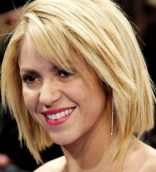 Fotos do Novo Corte de Cabelo da Shakira