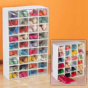 Organizador de Sapatos: Fotos, Como Fazer