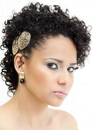 Penteados para Cabelos Afros e Curtos – Fotos, Dicas