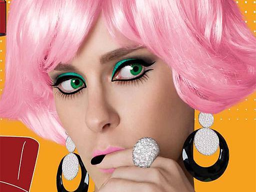 Perucas Coloridas: Fotos, Modelos