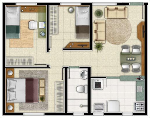 Plantas de casas simples para construir modelos de for Modelo de casa pequena para construir
