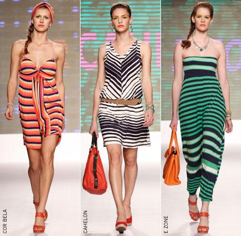 Roupas com Listras Coloridas: Tendências, Modelos