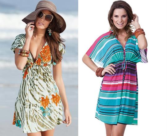 Saída de Praia Feminina Moda 2014