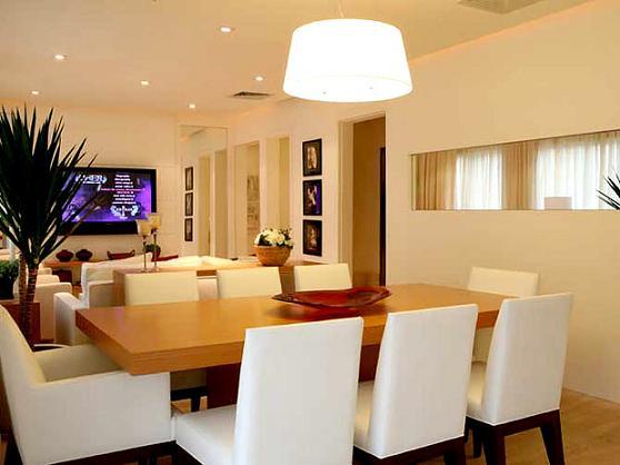 Decoração de Sala de Jantar Conjugada com Sala de Estar