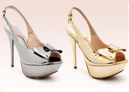 Sapatos Metalizados Tendências 2013, Dicas e Fotos