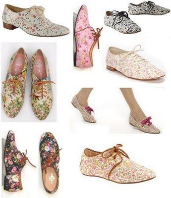 Sapatos Oxford Femininos | Tendências 2012