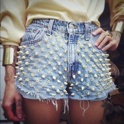 Shorts Customizados Femininos, Fotos e Dicas para Customizar