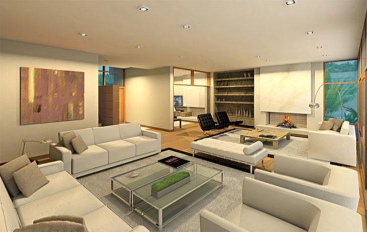 Fotos De Sala De Estar Com Tapete ~ Tapetes para Sala – Fotos e Modelos Decoração de Sala de estar